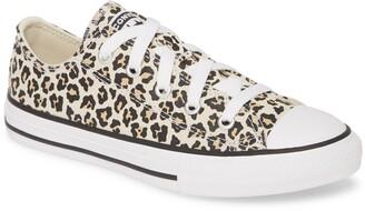 Converse Chuck Taylor(R) All Star(R) Leopard Spot Low Top Sneaker