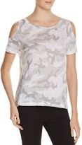 Generation Love Amber Camo Cold Shoulder Tee