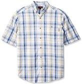 Wolverine Men's Big-Tall Men's Petoskey Big and Tall Cotton Short Sleeve Shirt