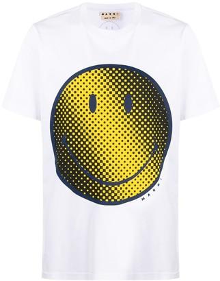 Marni smiley-face print T-shirt