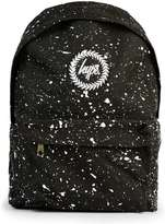 Hype Black Paint Splat Backpack*