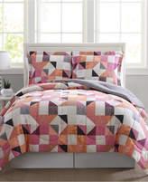 Pem America Casey Reversible 3-Pc. Full/Queen Comforter Mini Set Bedding