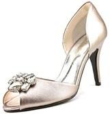 Caparros Veranda Women Peep-toe Synthetic Bronze Heels.