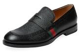 Gucci Web Strap Loafer