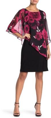 Slny Floral Popover Dress