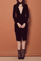 For Love & Lemons Collette Midi Dress