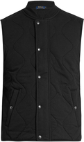 Polo Ralph Lauren Quilted cotton-blend gilet