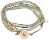 lonna & lilly Glass Bead Wrap-Style Bracelet