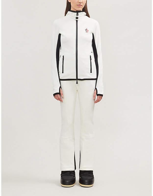 Moncler Maglia stretch-fleece jacket