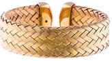 Roberto Coin Wide Woven Cuff Bracelet