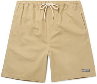 Satta Ibai Cotton-Poplin Drawstring Shorts