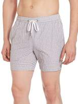 Onia Charles Gingham Trunks