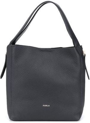 Furla Grace pebbled style tote bag