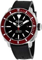 Alpina Seastrong Diver AL525LBBRG4V6 Stainless Steel & Silicone Automatic 44mm Mens Watch