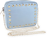 Capelli New York Studded Faux Leather Crossbody Bag