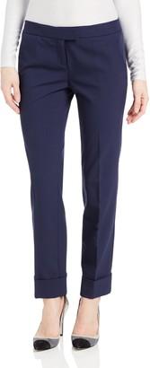 Magaschoni Women's Techno Gabardine Cropped Pant