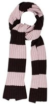 Akris Punto Cashmere & Wool-Blend Striped Scarf
