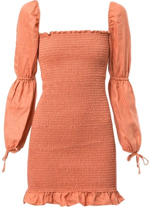 Reformation Hilary smock dress