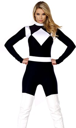Forplay Women's Vigorous Action Figure Catsuit with Belt