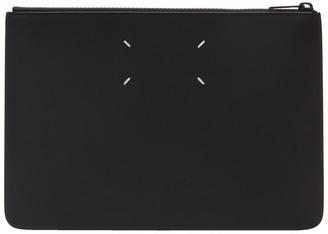 Maison Margiela SSENSE Exclusive Black Classic Leather Pouch