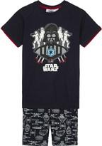 Fabric flavours Darth Vader glow-in-the-dark cotton pyjamas 3-10 years