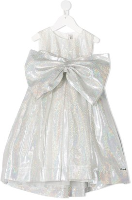 Simonetta Oversized Bow Dress