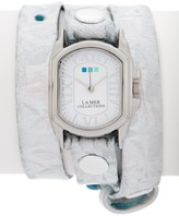 La Mer Women's Holographic Silver Chateau Watch