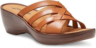 Eastland Women's Sandals TAN - Tan Poppy Leather Heeled Sandal - Women