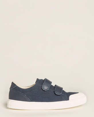 Naturino Kids Boys) Blue Canvas Low-Top Sneakers