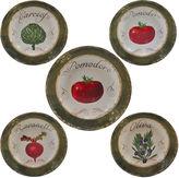 Certified International Pomodoro 5-pc. Pasta Bowl Serving Set
