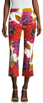 Trina Turk Lutton Floral Printed Cropped Pant