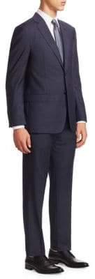 Emporio Armani Plaid G Line Suit