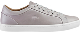 Lacoste Straightset Trainers, Light Grey