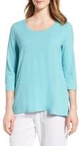 Eileen Fisher Women's Organic Cotton Top
