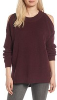 BP Women's Cold Shoulder Tunic Sweater