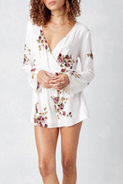 Love Stitch Lovestitch Printed Longsleeve Romper
