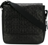 Coach textured messenger bag - men - Calf Leather - One Size