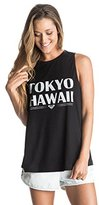 Roxy Juniors Mirror Ocean Tokyo Hawaii Tank Top