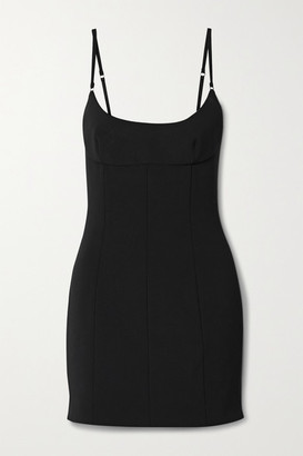 Alexander Wang Twill Mini Dress - Black