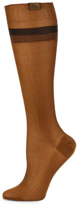 Fendi Striped Socks