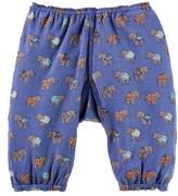Infant Boy's Peek Elephant Print Pants