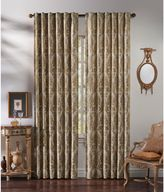 Callisto Home Costa Back Tab Lined Window Curtain Panel