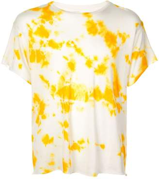 The Elder Statesman tie dye print T-shirt