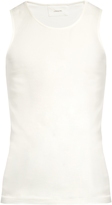 Lemaire Scoop-neck cotton tank top