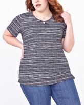 Penningtons Shaped Fit Printed Cotton T-Shirt