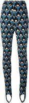 Marni embroidered leggings - women - Cotton/Polyamide/Viscose - 40