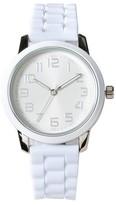 Xhilaration Women's Strap Watch - White