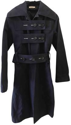 Celine Blue Cotton Coats