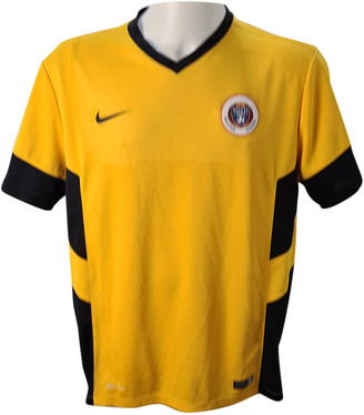 Nike Yellow Polyester T-shirts