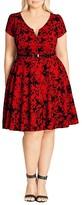 City Chic Rose Beauty Dress